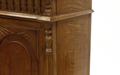 Anglo-Indian Carved Cabinet