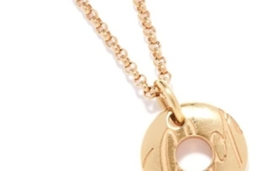 'CHOPARDISSIMO' PENDANT, CHOPARD in 18ct rose gold, set