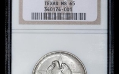 A United States 1934 Texas Commemorative 50c Coin