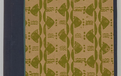 WPA Iowa Crafts Project Block Printed Notebook