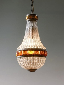 FRENCH STYLE CRYSTAL HALL LIGHT
