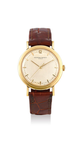 Vacheron Constantin. A Rare Oversized Centre Seconds Yellow Gold Wristwatch