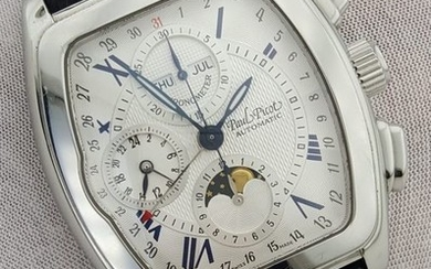 "Paul Picot - SG Majestic Chrono Moonphase Calendar Automatic ""NO RESERVE PRICE"" - 0533 - Men - 2011-present"