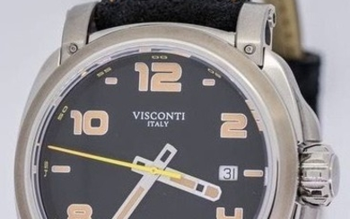 """Visconti - Automatic Watch Majorca Stainless Steel """"NO RESERVE PRICE"""" - KW30-01 - Men - BRAND NEW"""