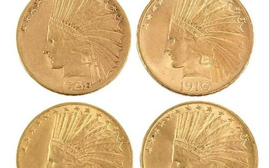 Group of Fifteen, Ten Dollar Gold Coins
