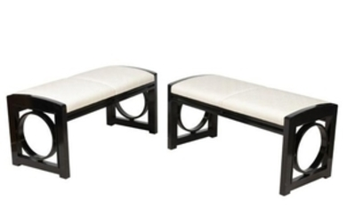 David Edwards - Thonet Style - Lacquered Benches