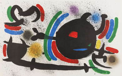 Joan Miro (1893-1983) From Lithographie I (M 860, 865, 866)
