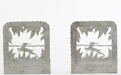 WPA Minnesota Art Project Steel Bookends