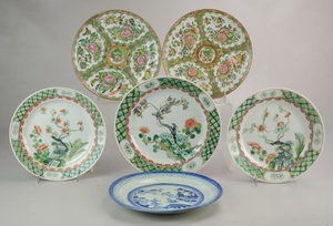 (6) Chinese Porcelain Plates