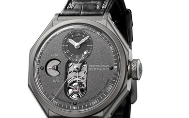 """FERDINAND BERTHOUD CHRONOMÈTRE FB 1 – NIGHT STAR The FB 1 """"Night Star"""" and its exclusive combination of colours and material is the interpretation of hope that inspires the fight against Duchenne muscular dystrophy, supported by Only Watch.,"""