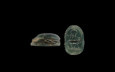 Phoenician Scarab with Apis Bull