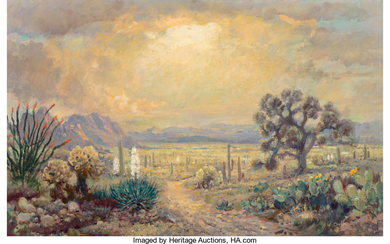 John William Orth (1889-1976), Desert Bloom