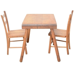 Lot Art Vintage Children S Table And Chairs