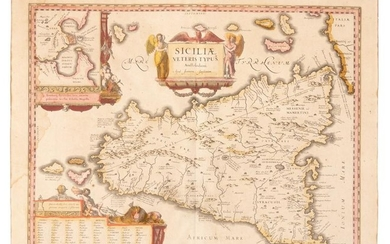 Jansson map of Sicily
