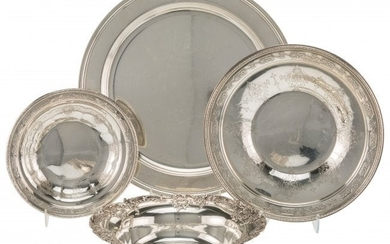 21070: Four American Silver Table Articles, late 19th-e