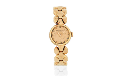 Patek Philippe. A lady's 18K rose gold manual wind cocktail bracelet watch