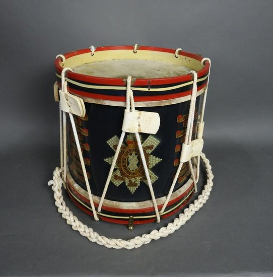 ENGLISH CEREMONIAL DRUM