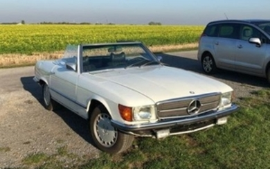 Mercedes-Benz - 350 SL (R107) - 1974