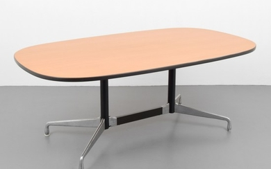 "Charles & Ray Eames; Herman Miller - Charles & Ray Eames ""Aluminum Group"" Conference Table"