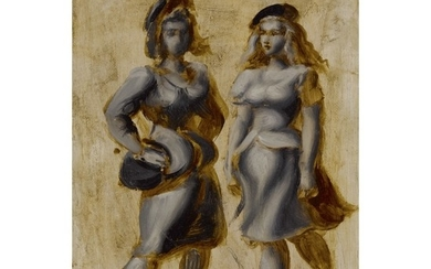 REGINALD MARSH | TWO WOMEN (STREET WALKERS)