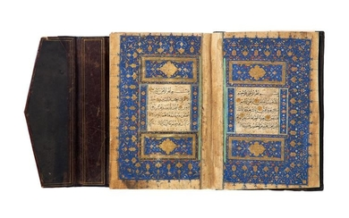 Timurid Qur'an, copied by Mahmoud bin Suleyman, in Arabic, illuminated manuscript on polished paper [Timurid Persia, dated 899 AH (1494 AD)]