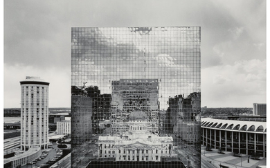 William Clift (b. 1944), Reflection, Old St. Louis County Court House, Missouri (1976)