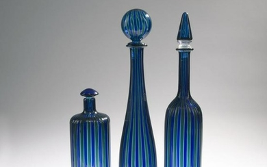 Gio Ponti (after), Three bottles, 1988/90