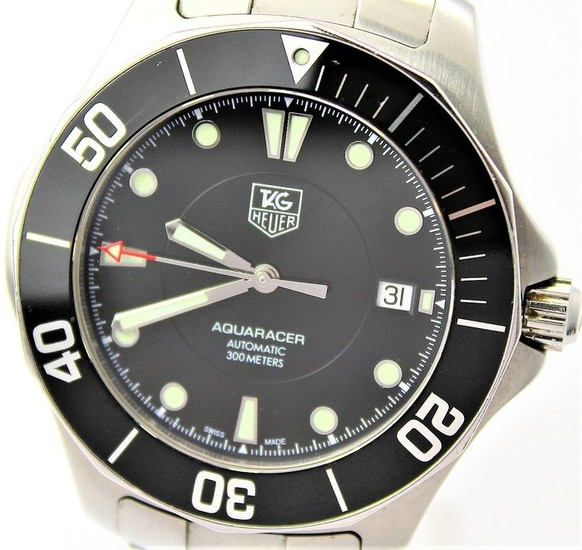 "TAG Heuer -Aquaracer Swiss Automatic ""NO RESERVE PRICE""- Caliber 5 WAB2010 300 m WR - Men - 2000-2010"