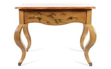 Contemporary Painted Side Table