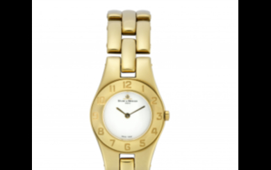 BAUME & MERCIER Lady's wristwatch gold plated 1990s Dial...