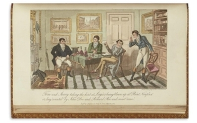CRUIKSHANK, GEORGE and ISAAC (illustrators). Egan, Pierce....