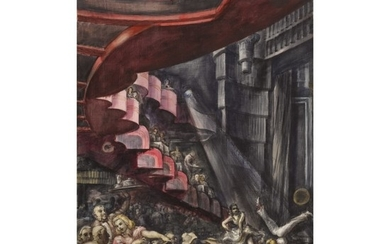 REGINALD MARSH | CABARET