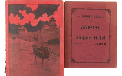 Two guide books, Jaipur and Peking 1909-10