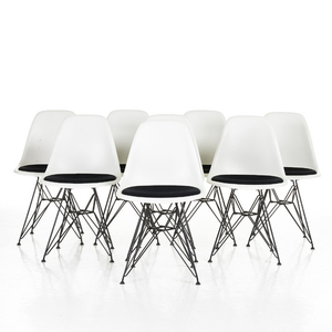 Charles & Ray Eames 8 chairs