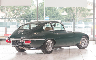 1972 Jaguar E-Type Series 3 V12 Coupe