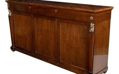Empire Style Rosewood Sideboard