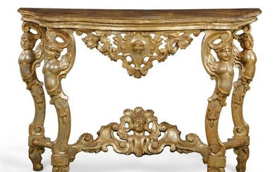 An Italian Baroque console table