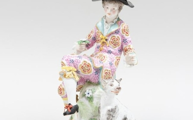 Porcelain Figure of a Dandy, Probably Bow