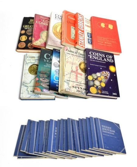 15 x Numismatic Reference Books, Catalogues etc, 3 x Stanley...