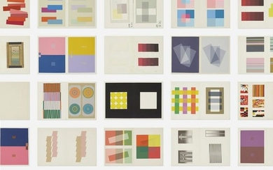 Josef Albers, Interaction of Color production tests