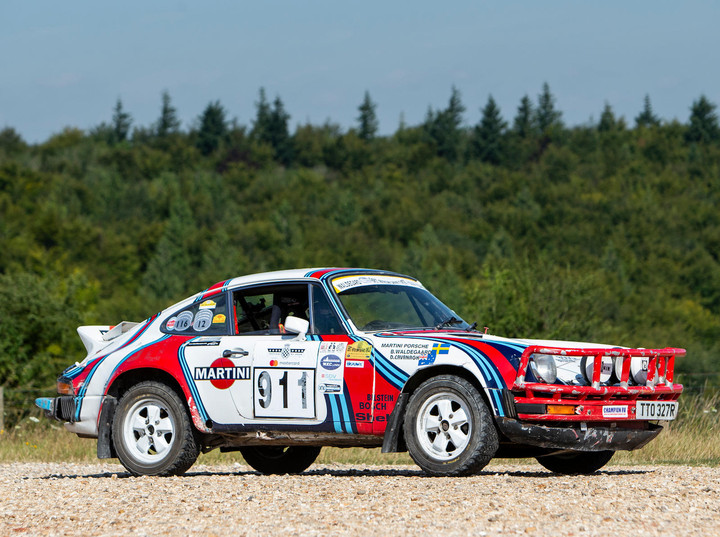 1976 Porsche 911 Carrera 3.0-Litre Rally Car