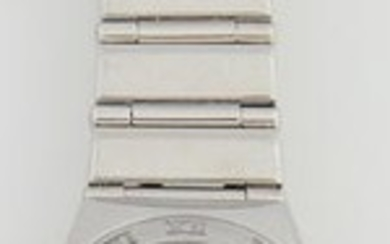 Lady's Omega Stainless Steel Constellation Wrist Watch,