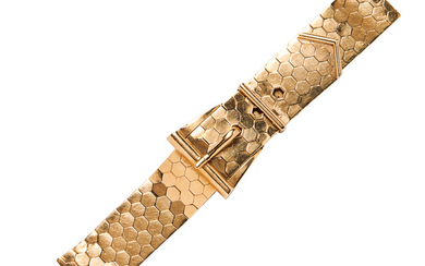 Retro 18kt Gold Covered Wristwatch
