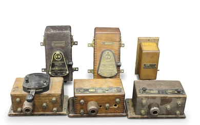 Coil Boxes, including Atwater Kent and K-W