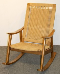 Groovy Lot Art Hans Wegner Style Rocking Chair Ocoug Best Dining Table And Chair Ideas Images Ocougorg