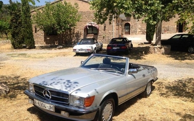 Mercedes-Benz - 500 SL (R107)- 1986