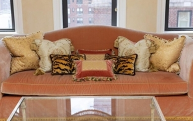Decorative French Silk Pillows - Eight