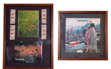 Woodstock Three-Record Set, Concert Tickets, and Collectibles