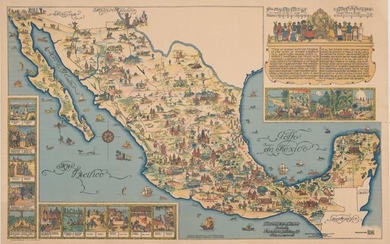 """""""Pictorial Map of Mexico"""""""