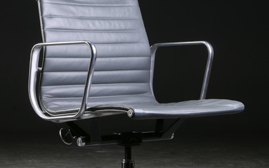 Charles Eames. Office chair from the series 'Aluminium Group Conference'